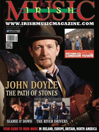 Cover image Irish Music magazine